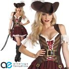 ADULT SEXY SWASHBUCKLER PIRATE COSTUME FANCY DRESS WENCH OUTFIT