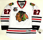 JEREMY ROENICK CHICAGO BLACKHAWKS RBK PREMIER AWAY NHL 75TH ANNIVERSARY JERSEY