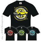 Burnout Coyote T-Shirt Schwarz US Farbwahl-Auto Car 1970 GTX V8 Mopar Plymouth