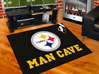 Pittsburgh Steelers Man Cave Area Rug Choose Size