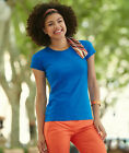 Damen T-Shirt, Lady-Fit Sofspun, Fruit of the Loom,