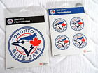 TORONTO BLUE JAYS OFFICIAL STICKERS DECALS *CHOOSE SIZE*  Baseball Canada