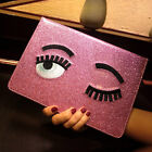 Bling Eyes Smart Sleep Stand Leather Cover Case For ipad Mini Retina 2/3/4/5/6