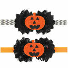 Baby Girls Headband Halloween Pumpkin Pattern Hair Band Hair Accessories Fashion