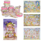 Think Pink Girls New Jigsaw Pack Illustrated Themed Childrens Puzzle Box Gift