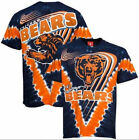 Chicago Bears V-Dye Liquid Blue T Shirt   SHIPS SAME DAY