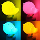 2015 Kids Bedroom Baby Cute Bird Light-controlled Sensor LED Night Light Lamp