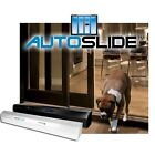 AutoSlide Ultimate  Automatic Opening Patio Pet Dog Door System  Black or White