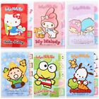 SANRIO MY MELODY LITTLE TWIN STRAS XO  INDEX NOTE PAD PAPER NOTEBOOK STICKERS