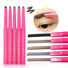 C8 US Womens Korean Eyeliner Eyebrow Pencil Style 5 Colors Makeup Tool Cosmetics