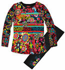 Girls Vivid Floral Tunic And Legging Set New Childrens 2 Piece Age 2 3 4 6 Years