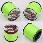 100M-500M 6LB-300LB Fluorescent Yellow/Green 100%PE Dyneema Braided Fishing Line
