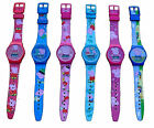 Kids Childrens Peppa Pig & George Digital Led Wrist Watch Asst Designs Brand New