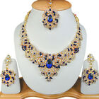 Fashion EDH Designer Bollywood Indian Ethnic Jewelry Gold Plated Necklace Sets