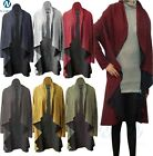 Womens Ladies Long Sleeve Open Front Waterfall Knit Style Cardigan lot Size 8-14