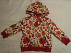 Gymboree Butterfly Girl Hooded Zip Front Sweatshirt NWT Choice Size 3 4 5 6 7 8