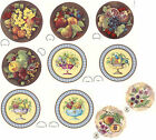 Ceramic Decals Fruit Food Bowl Bunch  Plate Size  Asst. Designs