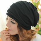 Fashionable Knit Baggy Beanie Slouchy Chic Cap Skull Crochet Hat For Women &Men