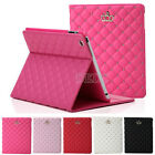 I3C 2015 Crown Leather Smart Case Stand Cover for iPad 2/3/4/5/6 Mini1/2/3 jhq2