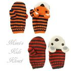 Gymboree Infant/Toddler Boys Mittens-King of Cool, S'mores Style  12-24M, 4T-5T