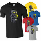 Kids Darth Vader Cartoon Minion Childrens Printed T Shirt Star Wars Parody