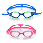 2pcs Swimming Goggles Clear Training Recreation 100% UV Protection Women Kid