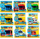 "Little Bus TAYO Character/4"" Toy 12 cars Pull-Back & Go/Korean Animation Figure"