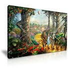 The Wizard of Oz Movie Canvas Musical Fantasy Wall Art Picture Print ~ 9 Sizes