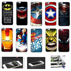 Cartoon Hero Matte Decorative Ornament Hard Case Cover For iPhone 6s 6s Plus