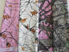 TRUE TIMBER SNOWFALL, HTC camo camouflage pink white brown nylon, poly FREE SHIP