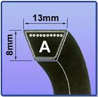A SECTION V BELT SIZES A101 - A144 V BELT 13MM X 8MM