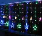Color 12 Twinkling Star Christmas Fairy String Lights Window Bedroom 3M 48 LED S