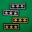 2 Army Military Police Insignia Iron On Sew Embroidered Patch Badge Applique Lot