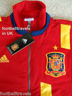 S M L XL XXL ADIDAS SPAIN TRACK JACKET football soccer Espana TOP TRAINING MEDIA
