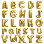 """New Gold 16"""" Mylar Letter Number Balloons Party Birthday Wedding Decorations"""