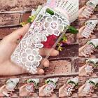 10 Types Clear Lace Floral Pattern Soft TPU Case Cover For Iphone 6S 4.7 Inch