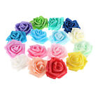 25pcs Foam Home Furnishing 7cm Artificial Rose Flower Handmade Wedding Decor