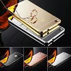 PERFECT ALUMINUM ULTRA-THIN MIRROR CASE COVER FOR HUAWEI ASCEND P7 /P8 /P8 LITE