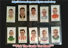 ☆ Carreras - Footballers 1934 (Small Titles) (G) ***Pick The Cards You Need***