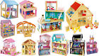 DOLLS HOUSES wooden many parts fairy tale variable deluxe NEW