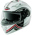 CABERG VOX RIVAL WHITE MOTORCYCLE MOTORBIKE BIKE SPORTS TOURING HELMET