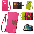 Popular Protect Stand Flip Wallet Leather Skin Case Cover For Google Nexus 5X 6P
