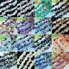 "Natural Gemstone chips 4-8mm Loose Spacer Beads 35"" Strand Jewelry making SBG119"