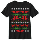 Jurassic World T. Rex Ugly Christmas Sweater Boys Graphic T Shirt - Fifth Sun