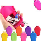 Rubber Silicone Cosmetic Makeup Bag Coin Purses Cellphone Pouch Bag fasion