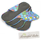 Reusable Pads, 4 Pack, Large, Maternity, Menstrual & Incontinence Pads,