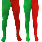 ELF TIGHTS RED AND GREEN LITTLE CHRISTMAS HELPER FANCY DRESS COSTUME ACCESSORY