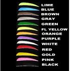 "100 AMG 4"" PARABOLIC Right Wing Feathers Archery Arrow Fletching CHOOSE COLOR"