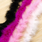 2m Feather Boa Fluffy Craft Costume Wedding Party Dressup Home Flower Decor C