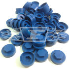 "16mm CAPRICE BLUE HEXAGONAL SCREW COVER CAPS TO FIT 8mm (5/16"") TEK SCREWS (AM6)"